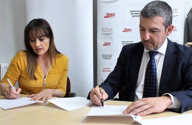 La FEP y la SEMICYUC firman un convenio centrado en la seguridad del paciente y