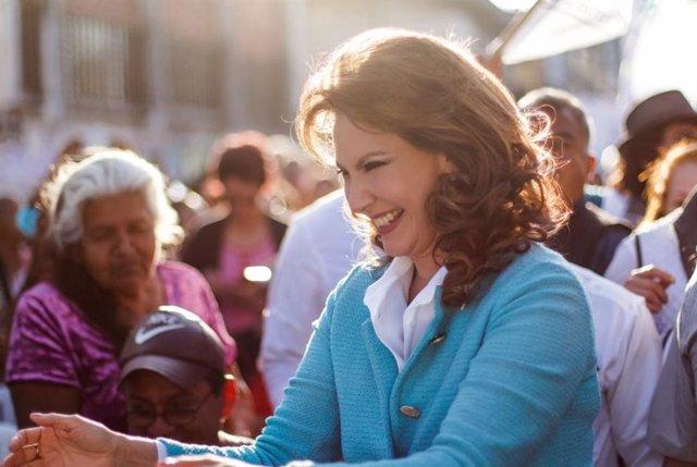 Zury Ríos inicia campaña a la Presidencia de Guatemala con la candidatura invali