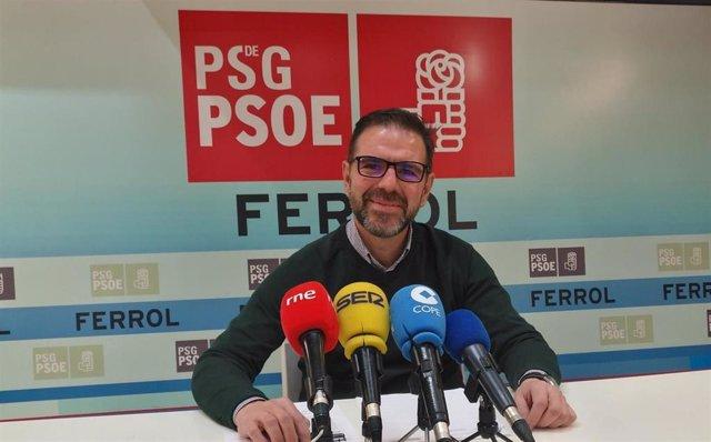 Ángel Mato del PSOE de Ferrol.