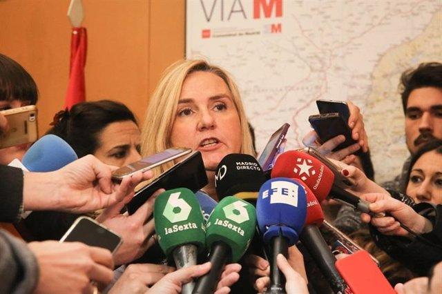 Rosalía Gonzalo, consejera de Tranportes