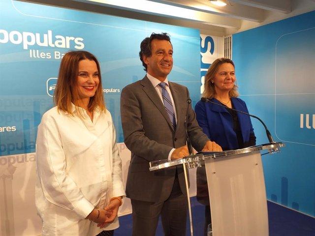 AMP.- 28A.- Prohens será la candidata del PP balear al Congreso y Salom al Senad