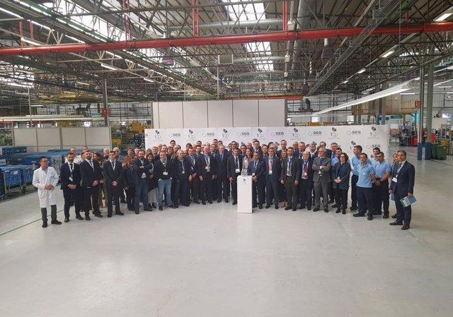Economía/Motor.- La planta de SEG Automotive en Treto alcanza los 100 millones d