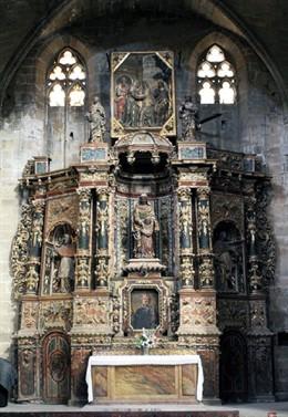 Restauran el retablo de Santa Anna de la Catedral de Tortosa