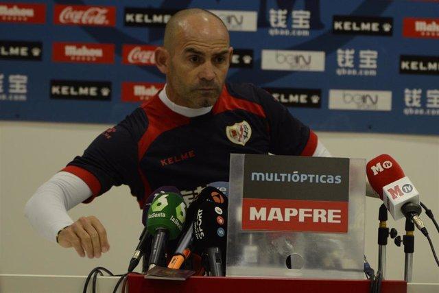 Paco Jémez en rueda de prensa