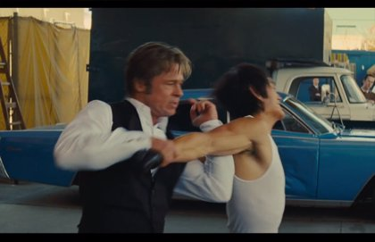 Brad Pitt vs Bruce Lee en el tráiler de Érase una vez en... Hollywood, lo nuevo de Taratino