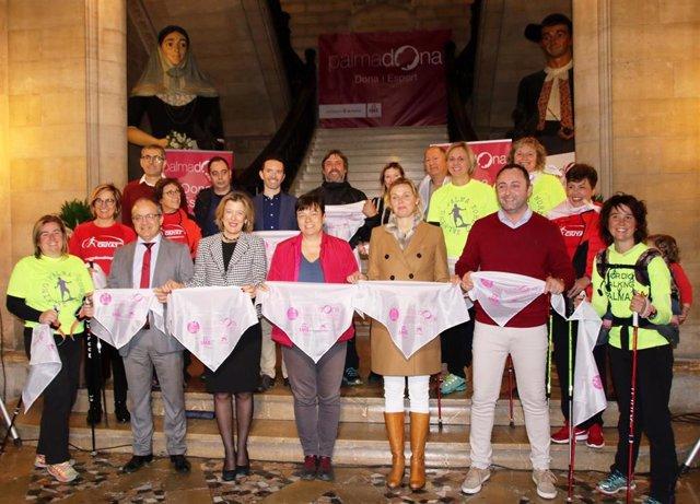 Cort organiza este domingo la IV Marcha por la Igualdad - Nordic Walking Ciutat