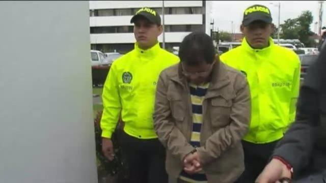 El pediatra procesado por abusos en el momento de su detención en Colombia
