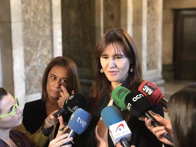 La consellera de Cultura de la Generalitat, Laura Borrs