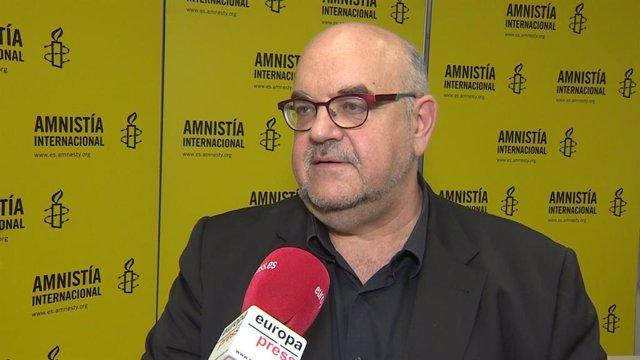 El director d'Amnistia Internacional a Espanya, Esteban Beltrán