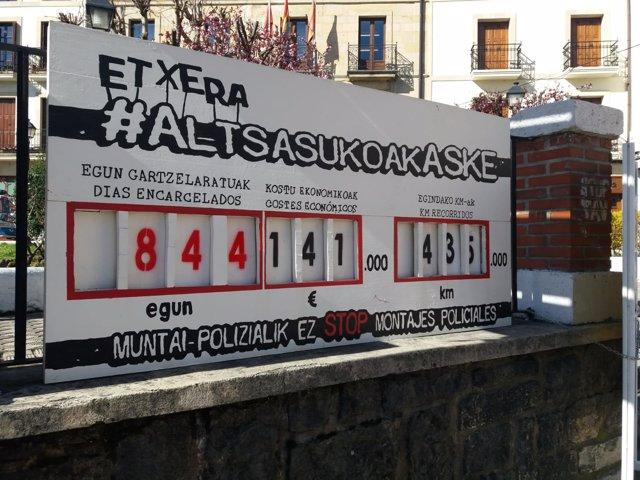 Ambiente en Alsasua (Navarra) tras confirmarse la sentencia por la agresión contra dos guardias civiles