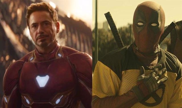 Tony Stark y Deadpool