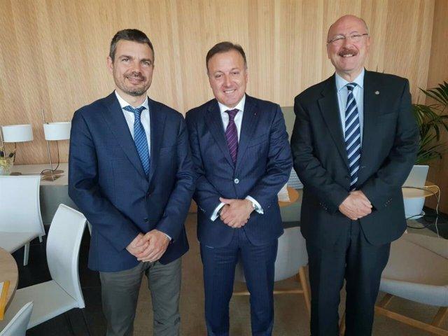 Mesquida se reúne con el Club Rotario Junípero Serra de Palma