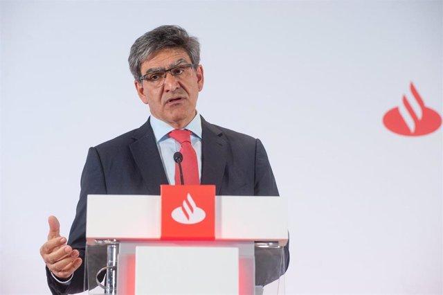 José Antonio Álvarez, CEO de Santander