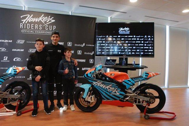 Motociclismo.- Jorge Martín apadrina la tercera edición de la Hawkers Cup