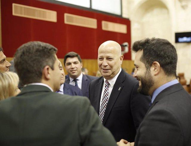 Primera jornada del Pleno del Parlamento andaluz