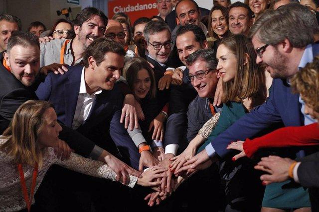 Convención de candidatos de Ciudadanos (Cs)
