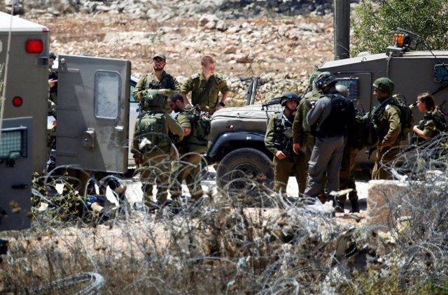 O.Próximo.- Muere un palestino tiroteado por soldados israelíes durante un enfre