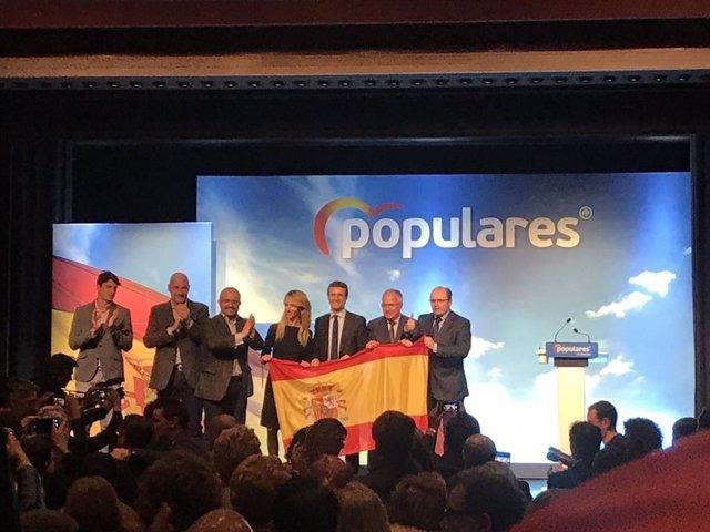 """AMP.- Álvarez de Toledo (PP) flama a """"eixamplar la base constitucional"""" en Catal"""