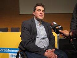 AMP.- 28A.- Lluís Puig, Meritxell Lluís i Josep Maria Matamala, candidats de JxCat al Senat (EUROPA PRESS)