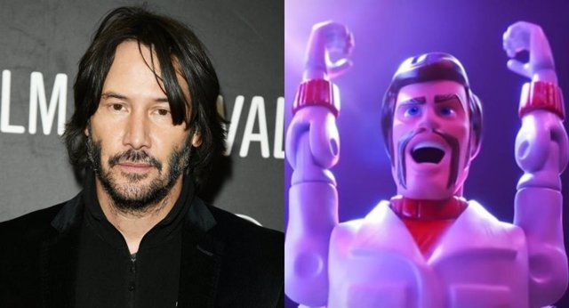 Disney confirma el personaje de Keanu Reeves en Toy Story 4