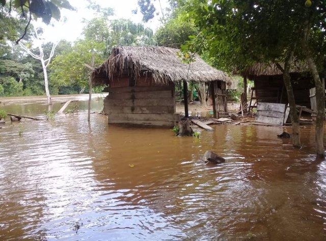 Declaran alerta roja en un departamento amazónico de Bolivia por las intensas ll