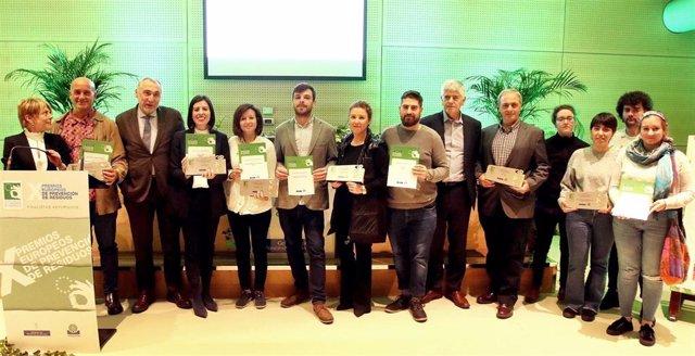 Cogersa selecciona cinco proyectos asturianos para los X Premios Europeos de Pre