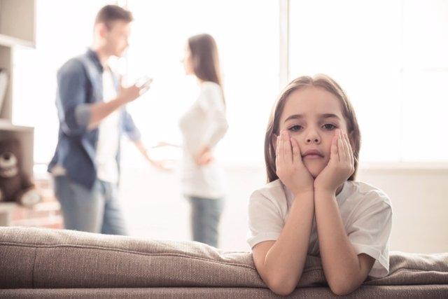 El trauma infantil y la separación de los padres