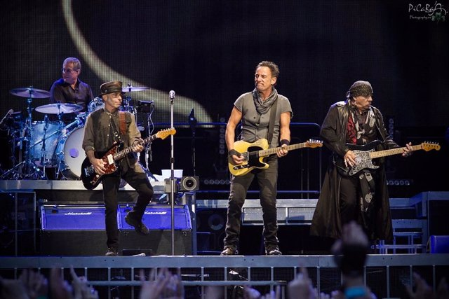 BRUCE SPRINGSTEEN EN MADRID EN 2016