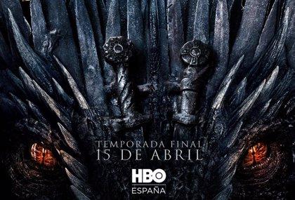 Dragones y espadas, fundidos en el póster final de Juego de tronos