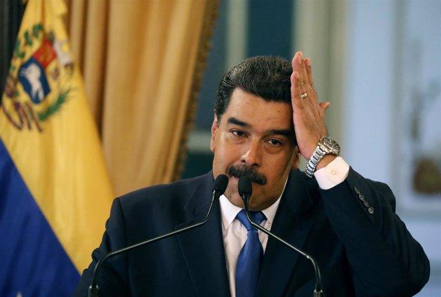 Venezuela.- Maduro acusa a EEUU de retener unos 5.000 millones de dólares destin
