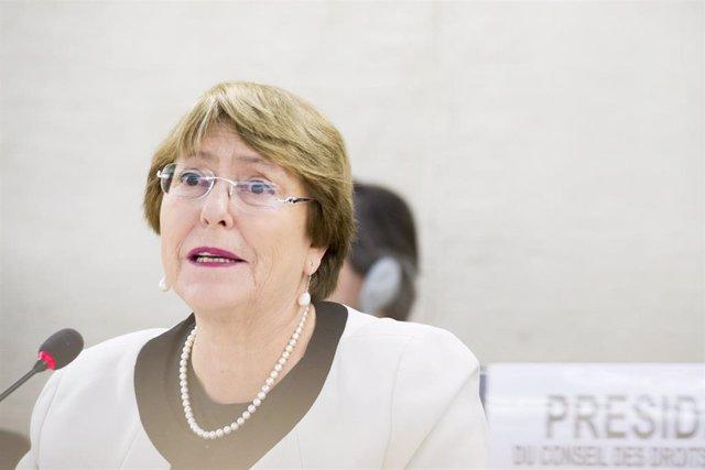 Bachelet y su preocupación especial por la situación de los DDHH en Colombia, Gu