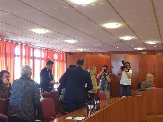 El PP abandona el pleno en que se aprueban los Vigueses Distinguidos y la Medall