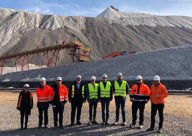 Alcaldes de pobles miners catalans recapten informació en la conca minera al