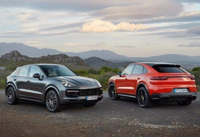 Economía/Motor.- Porsche presenta el Cayenne Coupé, con hasta 550 caballos, ya d