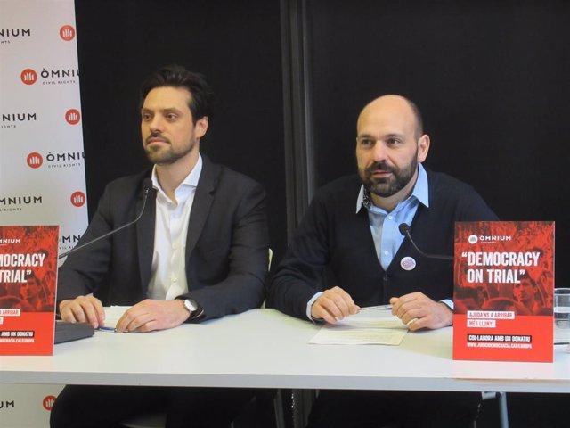 Av.- Procés.- Òmnium inicia una campanya per internacionalitzar el cas de Cuixar