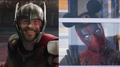 Thor da la bienvenida a Deadpool al mundo de los Vengadores