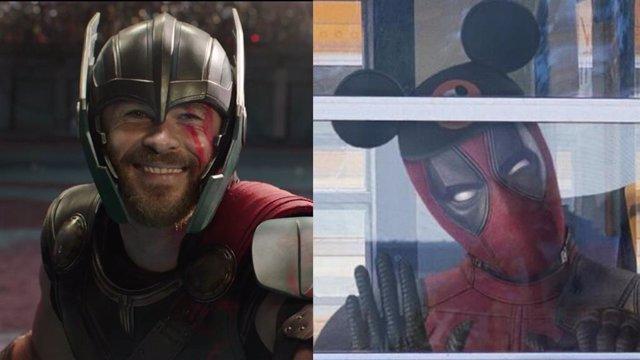Thor da la bienvenida a Deadpool a Marvel con una simpática imagen