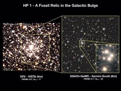 La óptica adaptativa revela un cúmulo fósil en el bulbo galáctico