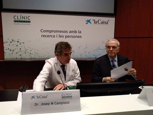La Caixa aporta 6 milions a l'Hospital Clínic per millorar investigació i asist