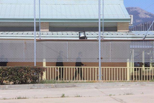 El president del Parlament, Roger Torrent, visita a la presó de Soto del Real