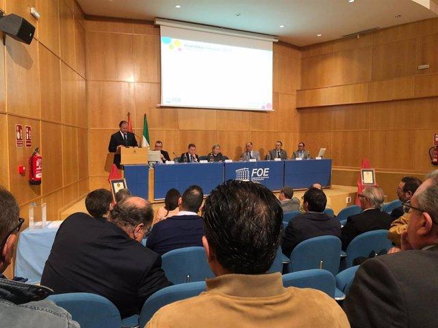 Huelva.- José Luis García-Palacios Álvarez, reelegido presidente de la FOE