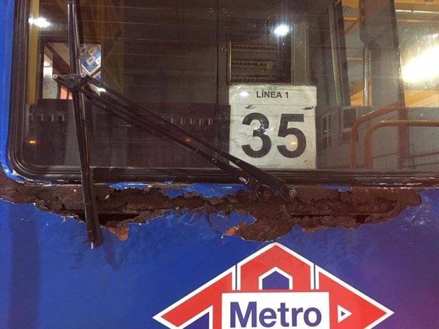 Sindicatos en Metro critican el estado de algunos coches antiguos en L1 y Metro