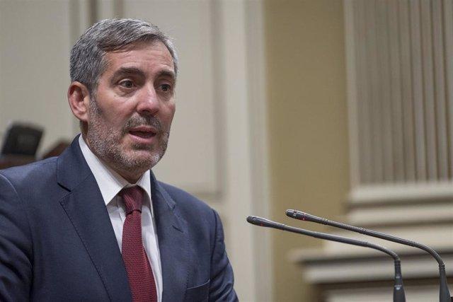 Pleno.- Clavijo achaca la reclamación judicial sobre la deuda en carreteras a la