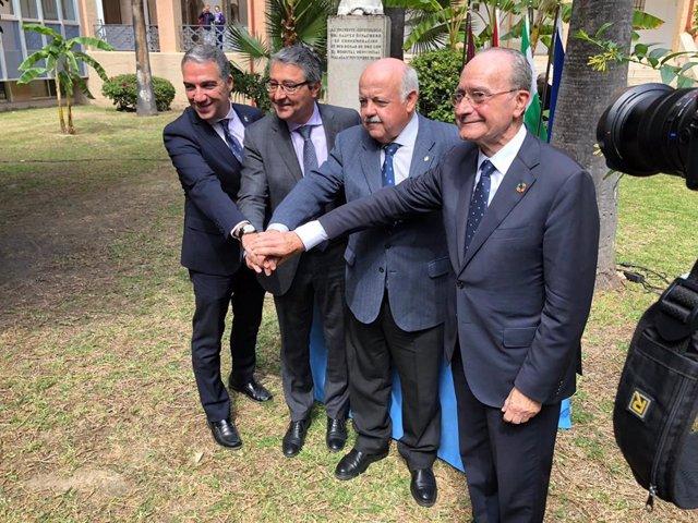 Málaga.- La Junta y la Diputación firman el protocolo de cesión de terrenos del