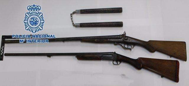 Córdoba.- Sucesos.- La Policía detiene a un hombre que intentaba vender armas de