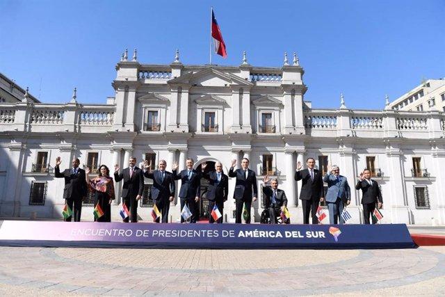 Chile recibe a 11 mandatarios iberoamericanos para inaugar PROSUR, el nuevo bloq