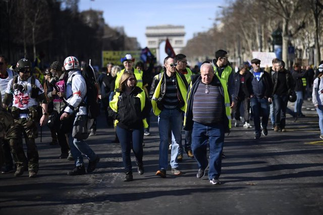 Yellow vest protests in France