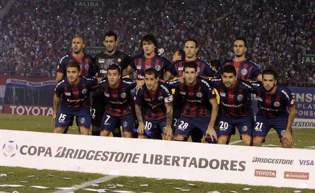 El equipo argentino de San Lorenzo