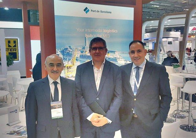 El Port de Barcelona presenta els seus serveis logístics integrats en la Interm