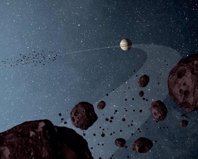Júpiter se formó cuatro veces más lejos del Sol que su posición actual